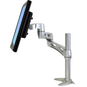 Ergotron Neo-Flex 45-235-194 Mounting Arm for Flat Panel Display, Computer, Keyboard - Silver