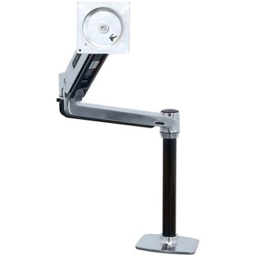 Ergotron Mounting Arm for Flat Panel Display - Polished Aluminum