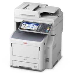 Oki MB700 MB770dfn LED Multifunction Printer - Monochrome - Plain Paper Print - Desktop
