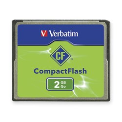 Verbatim 2 GB CompactFlash