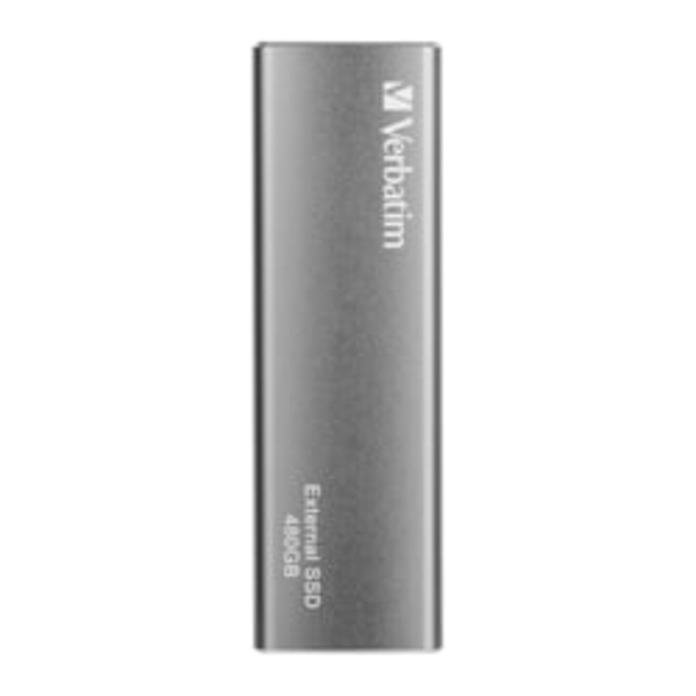 Verbatim Vx500 480 GB Solid State Drive - External - Graphite