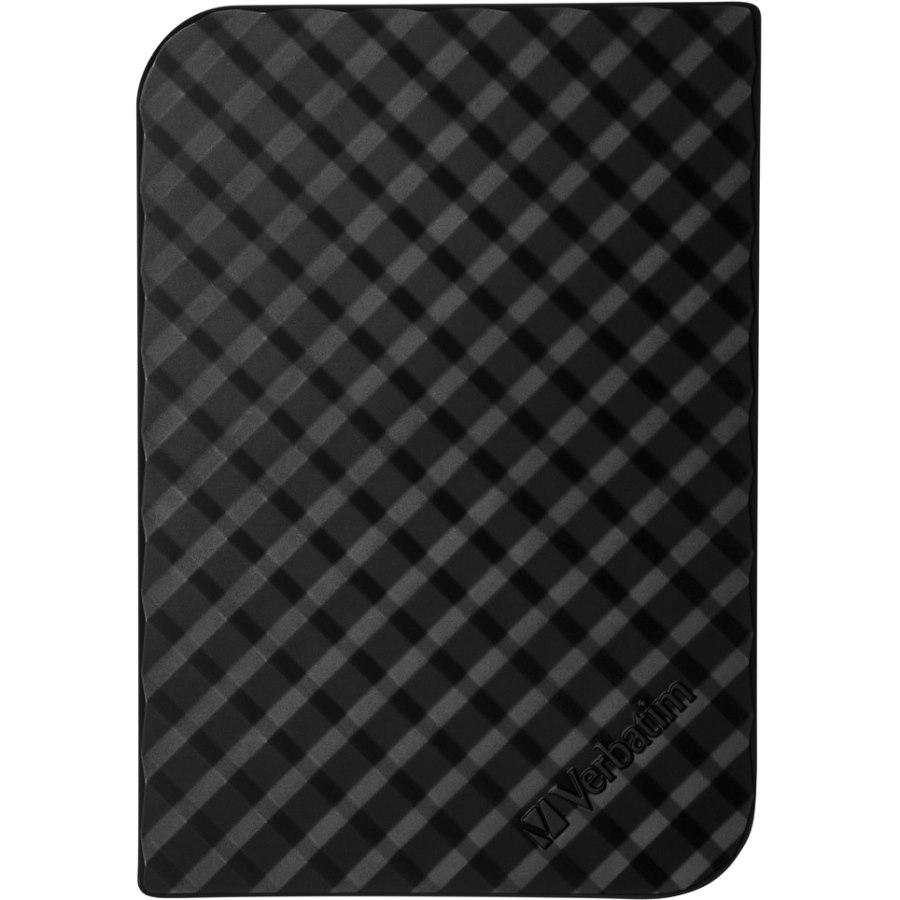 "Verbatim Store 'n' Save 3 TB Desktop Hard Drive - 3.5"" External - SATA - Black"