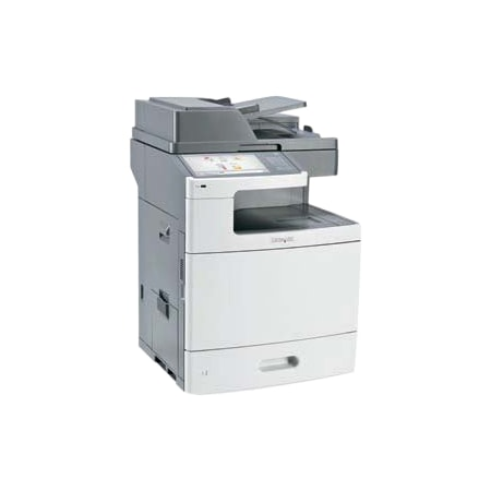 Lexmark X X792DE Laser Multifunction Printer - Colour