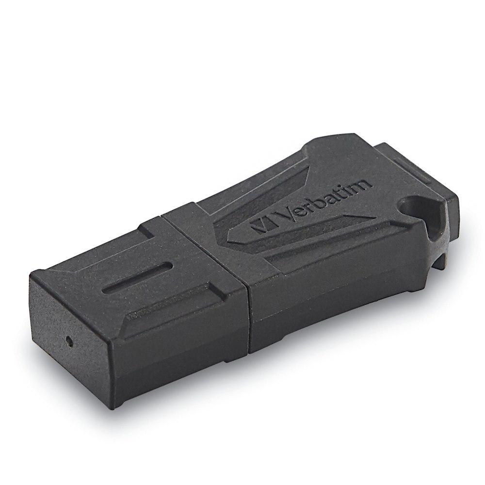Verbatim ToughMAX 16 GB USB 2.0 Flash Drive - Black