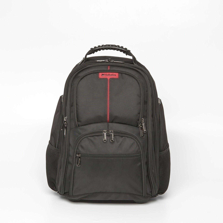 "Verbatim Paris Carrying Case (Rolling Backpack) for 43.2 cm (17"") Notebook"