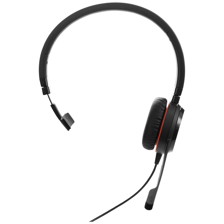 Jabra EVOLVE 20SE MS Mono Wired Over-the-head Mono Headset