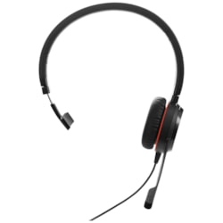 Jabra EVOLVE 20SE MS Mono Wired Mono Headset - Over-the-head - Supra-aural
