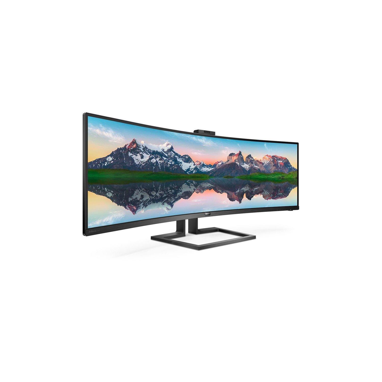 "Philips Brilliance 499P9H1 124 cm (48.8"") Dual Quad HD (DQHD) WLED LCD Monitor - 32:9 - Black"