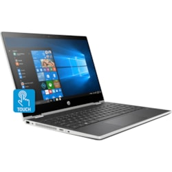 "HP Pavilion x360 14-cd0000 14-cd0019tu 35.6 cm (14"") Touchscreen LCD 2 in 1 Notebook - Intel Core i5 (8th Gen) i5-8250U Quad-core (4 Core) 1.60 GHz - 8 GB DDR4 SDRAM - 128 GB SSD - Windows 10 Home 64-bit - 1366 x 768 - Convertible"