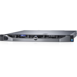 Dell EMC PowerEdge R330 1U Rack Server - 1 x Intel Xeon E3-1225 v6 Quad-core (4 Core) 3.30 GHz - 8 GB Installed DDR4 SDRAM - 1 TB (1 x 1 TB) Serial ATA/600 HDD - Serial ATA/600, 12Gb/s SAS Controller - 1 x 350 W