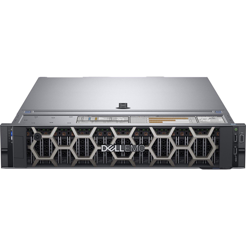 Dell EMC PowerEdge R740 2U Rack Server - 1 x Intel Xeon Bronze 3106 Octa-core (8 Core) 1.70 GHz - 8 GB Installed DDR4 SDRAM - 120 GB (1 x 120 GB) Serial ATA/600 SSD - 12Gb/s SAS, Serial ATA/600 Controller - 1 x 750 W