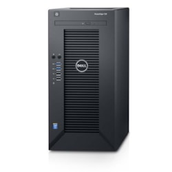 Dell PowerEdge T30 Mini-tower Server - 1 x Intel Xeon E3-1225 v5 Quad-core (4 Core) 3.30 GHz - 8 GB Installed DDR4 SDRAM - 1 TB Serial ATA HDD - Serial ATA/600 Controller - 1 x 290 W