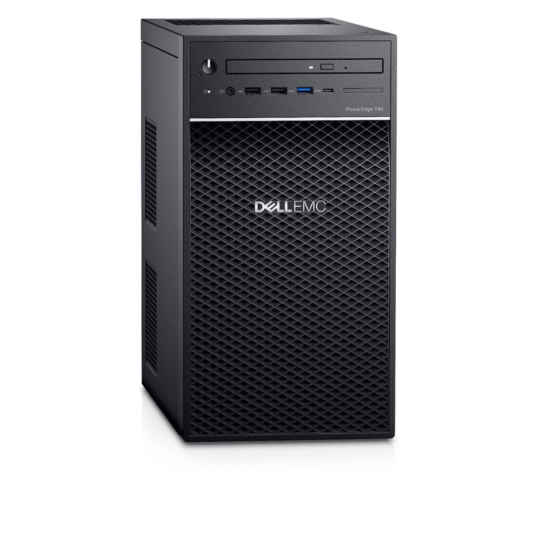 Dell EMC PowerEdge T40 Mini-tower Server - 1 x Xeon E-2224G - 8 GB RAM - 1 TB (1 x 1 TB) HDD - Serial ATA Controller