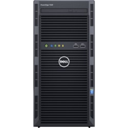 Dell EMC PowerEdge T130 Mini-tower Server - 1 x Intel Xeon E3-1225 v6 Quad-core (4 Core) 3.30 GHz - 8 GB Installed DDR4 SDRAM - 1 TB (1 x 1 TB) Serial ATA/600 HDD - Serial ATA/600 Controller - 290 W