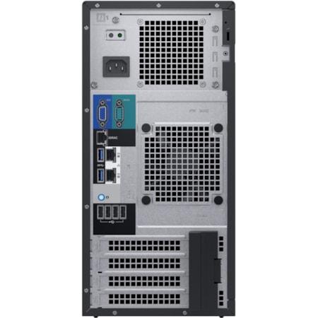 Dell EMC PowerEdge T140 Mini-tower Server - 1 x Xeon E-2224 - 8 GB RAM - 1 TB HDD - Serial ATA, 12Gb/s SAS Controller