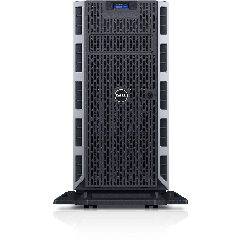 Dell EMC PowerEdge T330 5U Tower Server - 1 x Intel Xeon E3-1225 v6 Quad-core (4 Core) 3.30 GHz - 8 GB Installed DDR4 SDRAM - 1 TB (1 x 1 TB) Serial ATA/600 HDD - 12Gb/s SAS, Serial ATA/600 Controller - 1 x 495 W