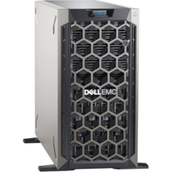 Dell EMC PowerEdge T340 Tower Server - 1 x Intel Xeon E-2224 3.40 GHz - 8 GB RAM - 1 TB HDD - Serial ATA, 12Gb/s SAS Controller
