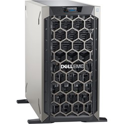 Dell EMC PowerEdge T340 Tower Server - 1 x Xeon E-2124 - 8 GB RAM - 1 TB (1 x 1 TB) HDD - 12Gb/s SAS, Serial ATA/600 Controller