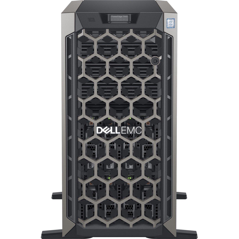 Dell EMC PowerEdge T440 5U Tower Server - 1 x Xeon Bronze 3204 - 16 GB RAM - 1 TB (1 x 1 TB) HDD - 12Gb/s SAS, Serial ATA Controller