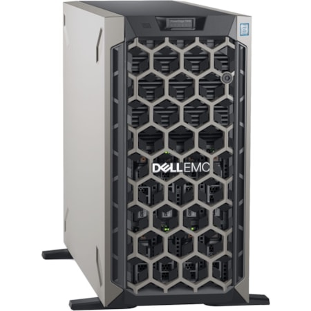 Dell EMC PowerEdge T440 5U Tower Server - 1 x Intel Xeon Silver 4110 Octa-core (8 Core) 2.10 GHz - 16 GB Installed DDR4 SDRAM - 1 TB (1 x 1 TB) Serial ATA/600 HDD - 12Gb/s SAS, Serial ATA/600 Controller - 1 x 495 W