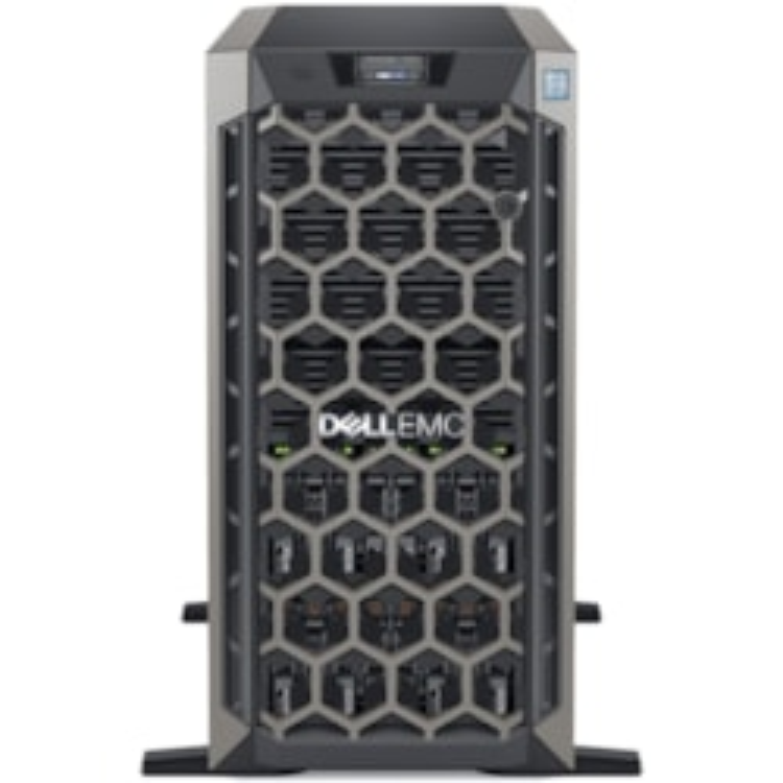 Dell EMC PowerEdge T640 5U Tower Server - 1 x Xeon Silver 4210R - 16 GB RAM - 600 GB (1 x 600 GB) HDD - Serial ATA, 12Gb/s SAS Controller