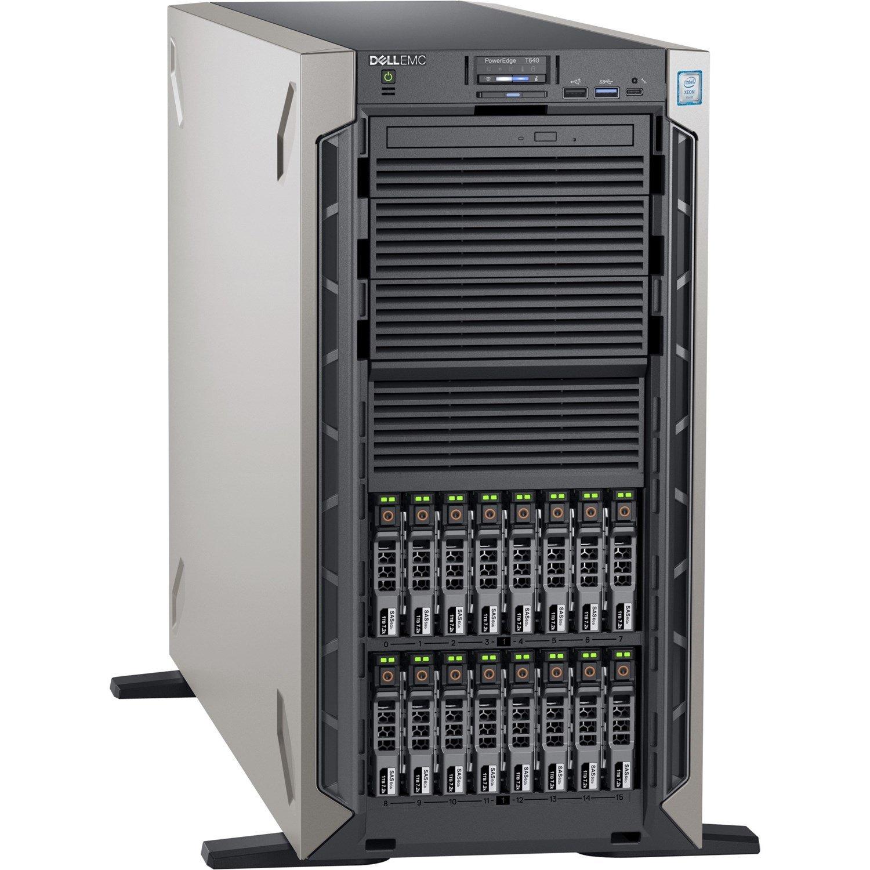 Dell EMC PowerEdge T640 5U Tower Server - Xeon Bronze 3204 - 16 GB RAM - 1 TB HDD - 12Gb/s SAS, Serial ATA/600 Controller