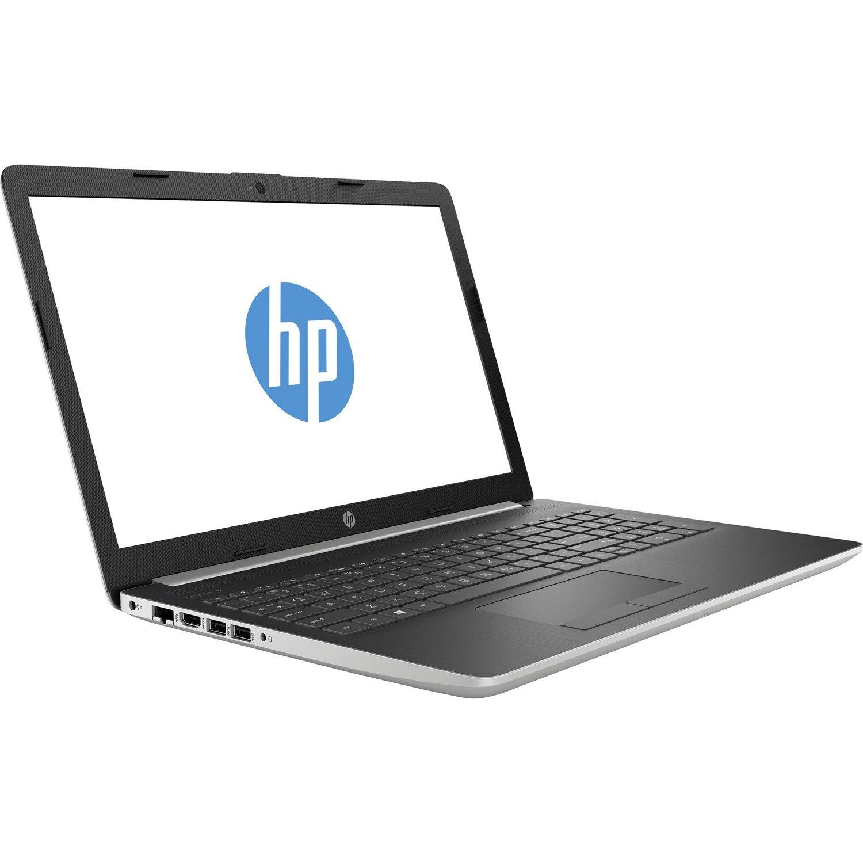 """HP 15-da0000 15-da0024tx 39.6 cm (15.6"""") LCD Notebook - Intel Core i5 (8th Gen) i5-8250U Quad-core (4 Core) 1.60 GHz - 16 GB DDR4 SDRAM - 1 TB HDD - 128 GB SSD - Windows 10 Home 64-bit - 1366 x 768 - BrightView - Natural Silver"""