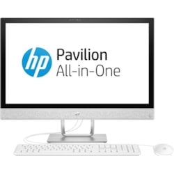 "HP Pavilion 24-r100 24-r159a All-in-One Computer - Intel Core i5 i5-8400T 1.70 GHz - 8 GB DDR4 SDRAM - 1 TB HDD - 60.5 cm (23.8"") 1920 x 1080 Touchscreen Display - Windows 10 Home 64-bit - Desktop"