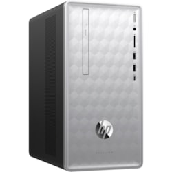 HP Pavilion 590-P0000 590-p0064a Desktop Computer - Intel Core i7 (8th Gen) i7-8700 3.20 GHz - 8 GB DDR4 SDRAM - 2 TB HDD - Windows 10 Home 64-bit