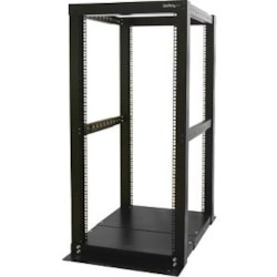 StarTech.com 25U High x 584.20 mm Wide Rack Frame - Black