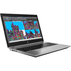 "HP ZBook 15 G5 39.6 cm (15.6"") LCD Mobile Workstation - Intel Core i7 (8th Gen) i7-8850H Hexa-core (6 Core) 2.60 GHz - 16 GB DDR4 SDRAM - 512 GB SSD - Windows 10 Pro 64-bit - 1920 x 1080 - Sure View"
