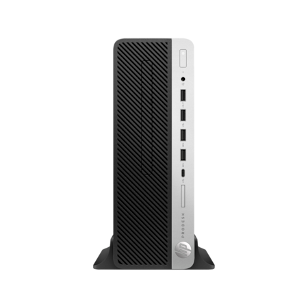 HP Business Desktop ProDesk 600 G4 Desktop Computer - Intel Core i5 (8th Gen) i5-8500 3 GHz - 8 GB DDR4 SDRAM - 16 GB Optane Memory - 1 TB HDD - Windows 10 Pro 64-bit - Small Form Factor