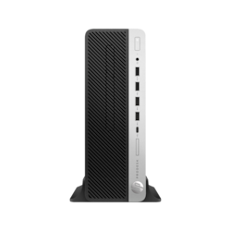 HP Business Desktop ProDesk 600 G4 Desktop Computer - Intel Core i7 (8th Gen) i7-8700 3.20 GHz - 8 GB DDR4 SDRAM - 256 GB SSD - Windows 10 Pro 64-bit - Small Form Factor