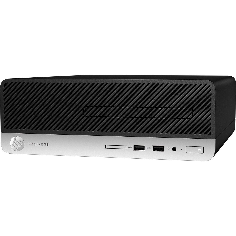 HP Business Desktop ProDesk 400 G5 Desktop Computer - Intel Core i3 (8th Gen) i3-8100 3.60 GHz - 4 GB DDR4 SDRAM - 500 GB HDD - Windows 10 Pro 64-bit - Small Form Factor