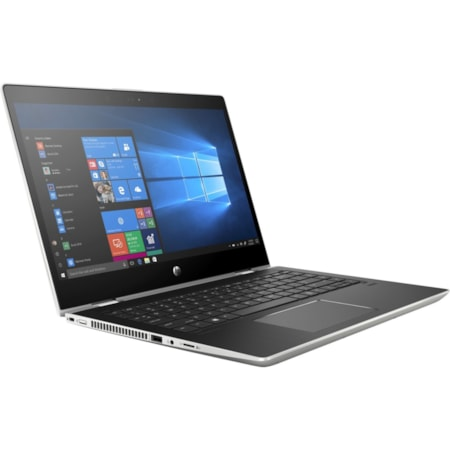 """HP ProBook x360 440 G1 35.6 cm (14"""") Touchscreen LCD 2 in 1 Notebook - Intel Core i5 (8th Gen) i5-8250U Quad-core (4 Core) 1.60 GHz - 8 GB DDR4 SDRAM - 256 GB SSD - Windows 10 Pro - 1920 x 1080 - In-plane Switching (IPS) Technology - Convertible"""