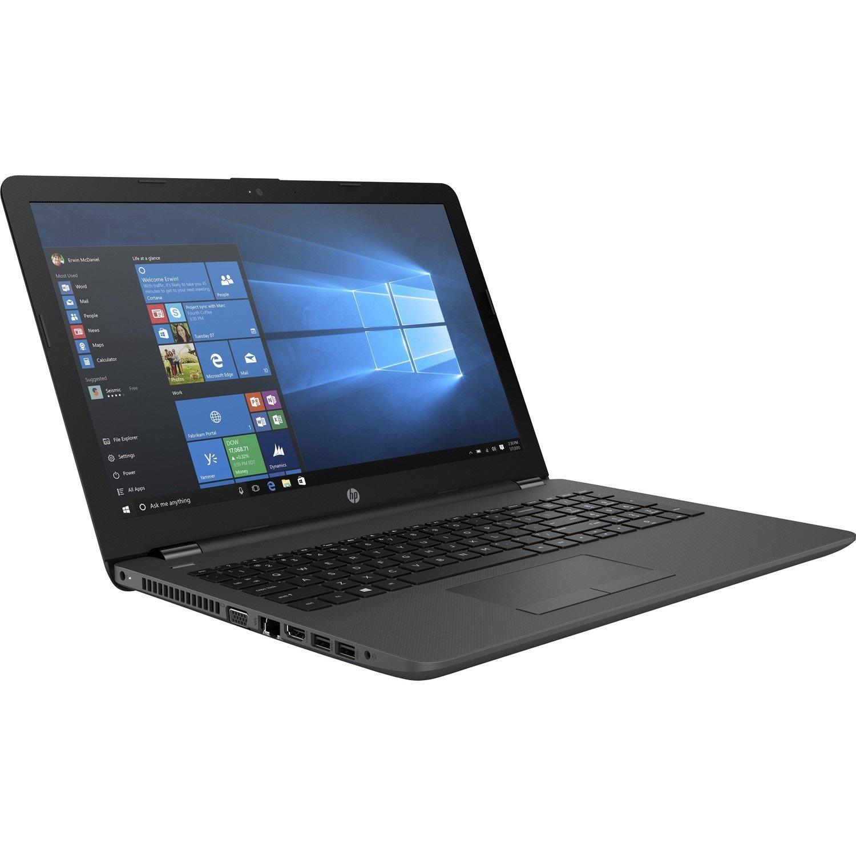 """HP 250 G6 39.6 cm (15.6"""") Notebook - 1366 x 768 - Core i3 i3-7020U - 4 GB RAM - 500 GB HDD - Dark Ash Silver"""