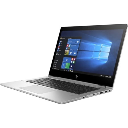 """HP EliteBook x360 1030 G3 33.8 cm (13.3"""") Touchscreen LCD 2 in 1 Notebook - Intel Core i7 (8th Gen) i7-8650U Quad-core (4 Core) 1.90 GHz - 16 GB LPDDR3 - 512 GB SSD - Windows 10 Pro 64-bit - 1920 x 1080 - In-plane Switching (IPS) Technology, Sure View - Convertible - Silver"""