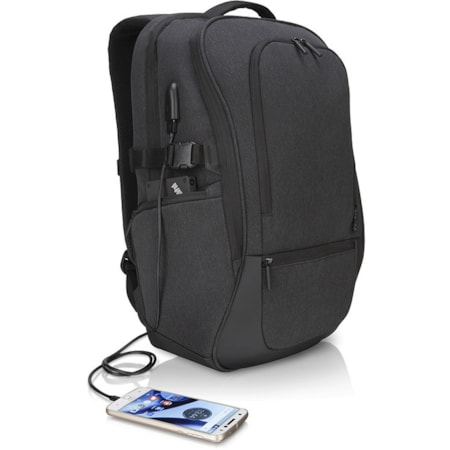 "Lenovo Passage Carrying Case (Backpack) for 43.2 cm (17"") Notebook - Charcoal"