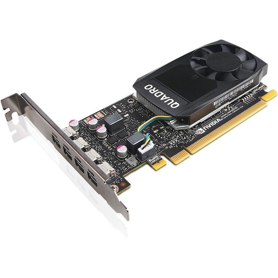 Lenovo Quadro P1000 Graphic Card - 4 GB GDDR5