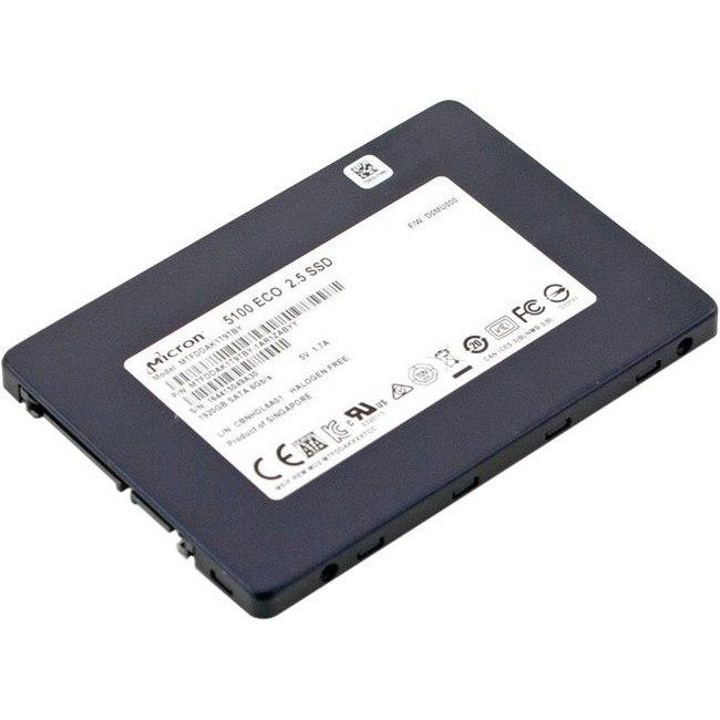 "Lenovo 5100 480 GB Solid State Drive - SATA (SATA/600) - 3.5"" Drive - Internal"