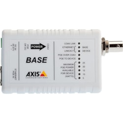 AXIS T8641 Ethernet/PoE Over Coax Base Unit