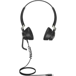 Jabra Engage 50 Wired Stereo Headset - Over-the-head - Supra-aural