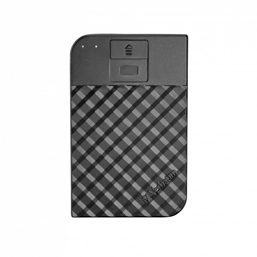 Verbatim Store 'n' Go 1 TB Portable Hard Drive - External - SATA (SATA/600) - Black