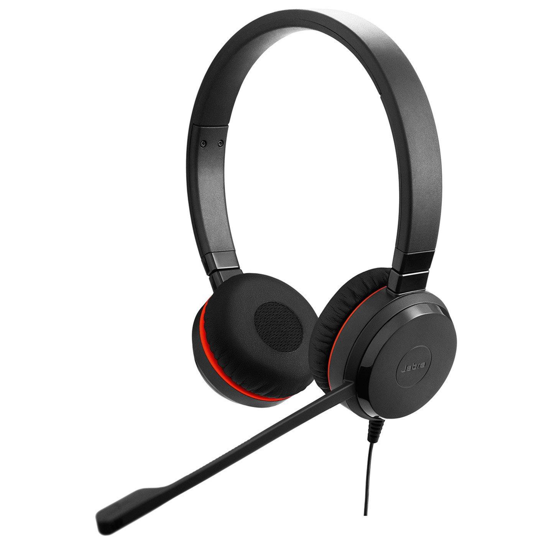 Jabra EVOLVE 30 II Wired Stereo Headset - Over-the-head - Supra-aural