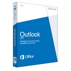 Microsoft Outlook 2013 32/64-bit - Complete Product - 1 PC - Standard