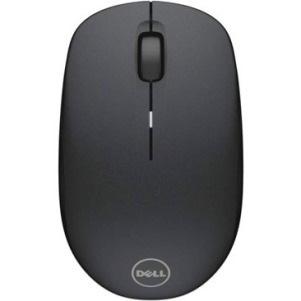 Dell WM126 Mouse - Optical - Wireless - 3 Button(s) - Black