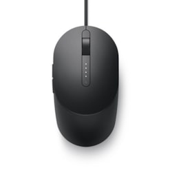 Dell MS3220 Mouse - USB 2.0 - Laser - 5 Button(s) - Black