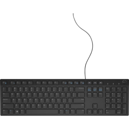 Dell KB216 Keyboard - Cable Connectivity - USB Interface - English - Black