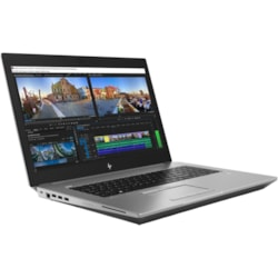 "HP ZBook 17 G5 VR Ready 43.9 cm (17.3"") LCD Mobile Workstation - Intel Xeon E-2186M Hexa-core (6 Core) 2.90 GHz - 32 GB DDR4 SDRAM - In-plane Switching (IPS) Technology - Turbo Silver"