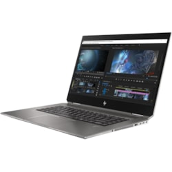 "HP ZBook Studio x360 G5 39.6 cm (15.6"") Touchscreen LCD 2 in 1 Mobile Workstation - Intel Xeon E-2186M Hexa-core (6 Core) 2.90 GHz - 32 GB DDR4 SDRAM - 1 TB SSD - Windows 10 Pro 64-bit - 3840 x 2160 - In-plane Switching (IPS) Technology - Convertible"